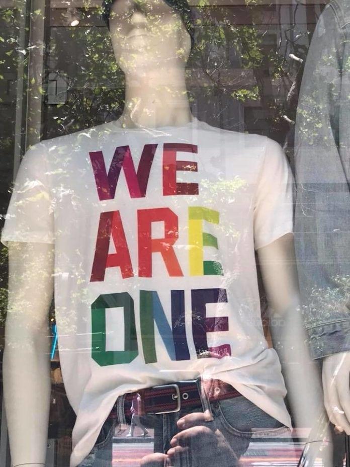 We are one LGBTQ Pride San Francisco