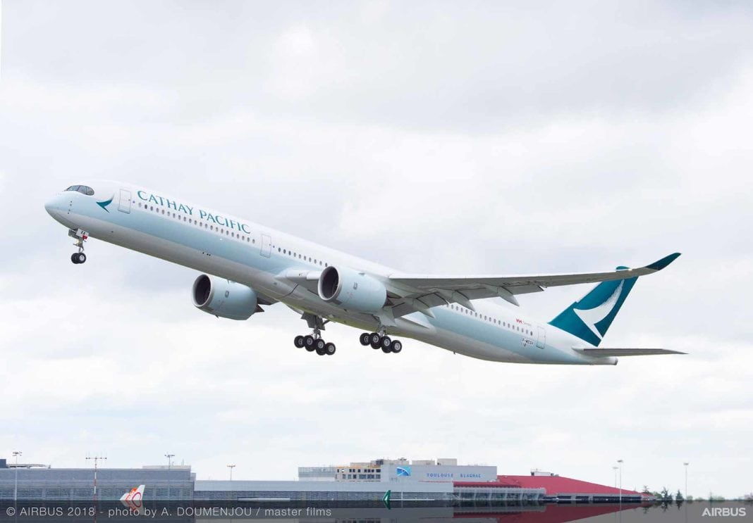 Cathay Pacific, Cathay Pacific becomes second operator of the A350-1000 widebody, Buzz travel | eTurboNews |Travel News