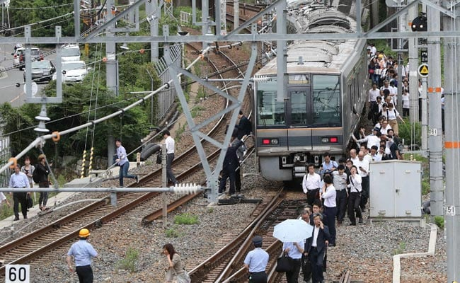 osaka earthquake aftershocks continuing but transportation network