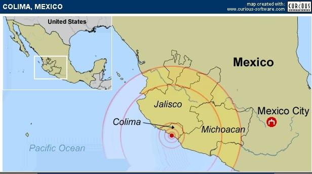 , Mexican Pacific Ocean region hit by 6.1. Earthquake, Buzz travel   eTurboNews  Travel News
