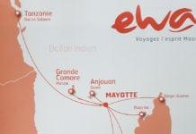 Ewa Air Route Map