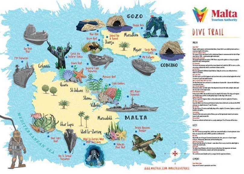 Malta, Explore Malta and Gozo's sea with a new dive trail, Buzz travel | eTurboNews |Travel News