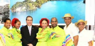 Minister of Tourism of DR, Francisco Javier García/Photo courtesy of Richard F. Potts