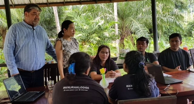 Tourism lecturers organize Spirit of Hospitality training