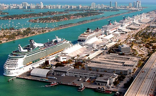how to get from fort lauderdale to miami ncl port
