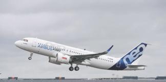 A320neo aircraft