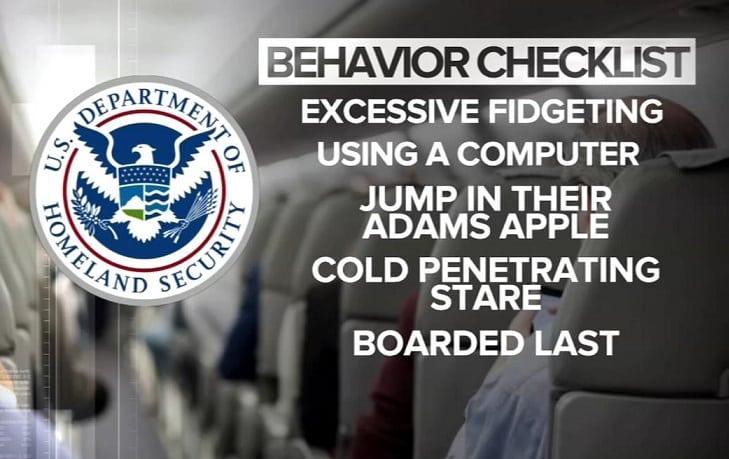 TSA surveillance program criticized for tracking United States citizens