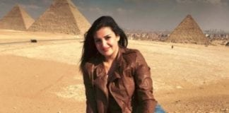 Mona el-Mazbouh locked up for 8 years in Egypt