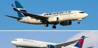 Delta Air Lines and WestJet