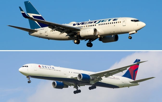 Delta Air Lines and WestJet to create new transborder joint venture