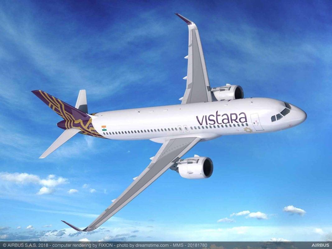 VISTARA to add 50 Airbus A320neo