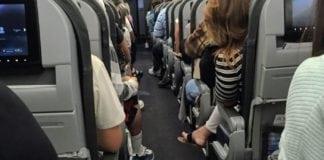 Airline passenger comfort