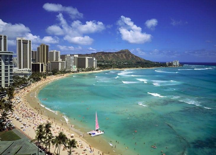 "Hawaii ranks high compared to international ""sun and sea"" destinations"