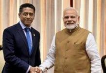 rime Minister Narendra Modi meets Seychelles President Danny Faure. File Photo