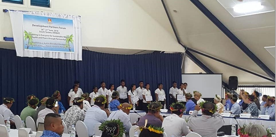 Key Partner at Kiribati Development Partners Forum