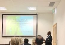 eTN Sri Lanka ambassador delivers a talk at the Sri Lankan Embassy in Canberra