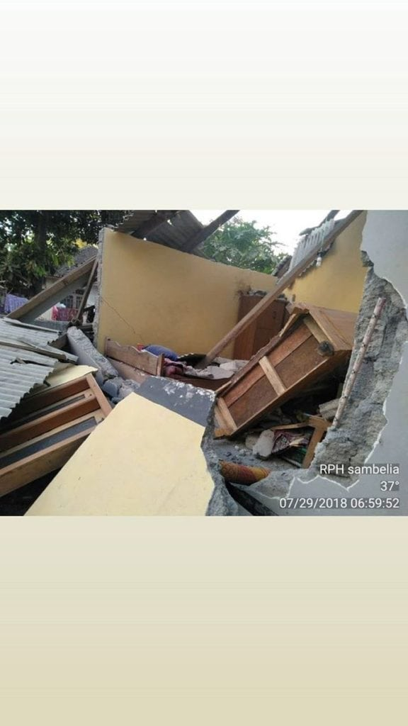 Lombok Earthquake: 6.4 strong hit Tourist Island in Indonesia