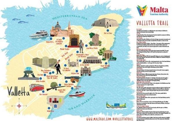 Malta, Malta Tourism Authority introduces Valletta Trail, Buzz travel | eTurboNews |Travel News
