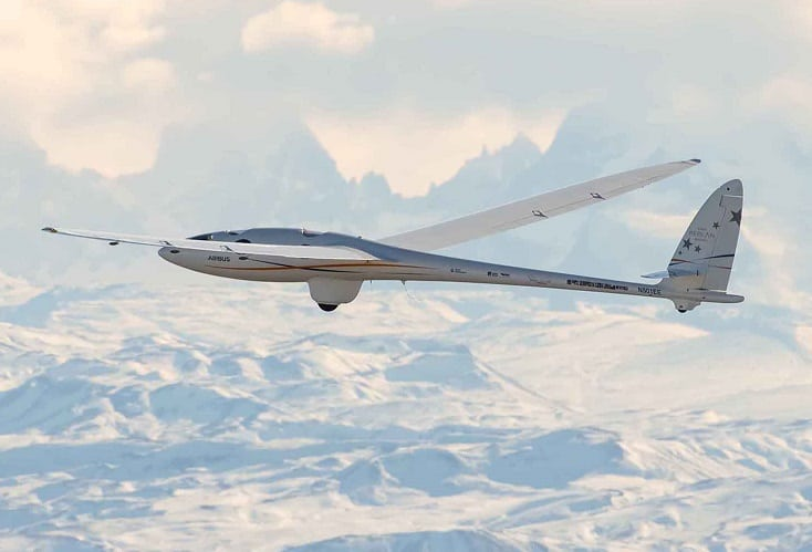 Airbus Perlan Mission II soars to over 62,000 feet, sets altitude world record