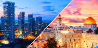 Jerusalem and Tel Aviv