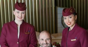 Qatar Airways partners with renowned Australian chef