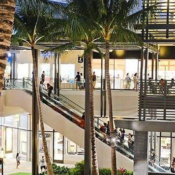 Ala Moana Center in Hawaii