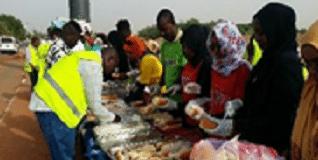 Corinthia Hotels - Prepping Sandwiches in Khartoum, Sudan