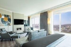 Hotéis Corinthia - Sala de Estar Suite Júnior Deluxe em Lisboa