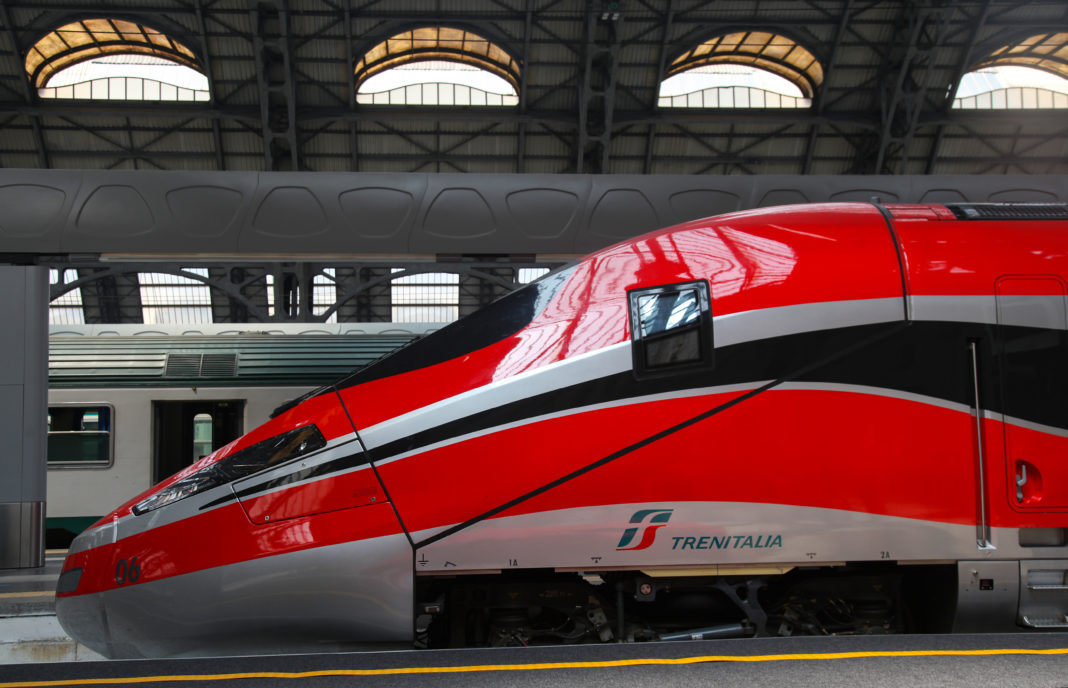 Fly with Emirates on the Trenitalia Train in Italy