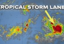 Tropical Storm Lane