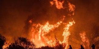 US West Coast wildfires