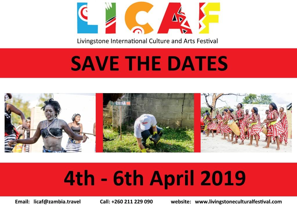 Livingstone International Culture &Arts Festival in Zambia