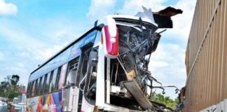 7 passengers killed, over 40 injured in India bus crash