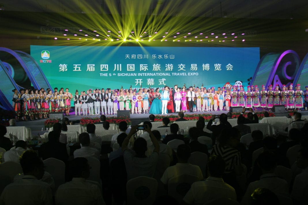 , The 5th Sichuan International Travel Expo opens in Leshan, China, Buzz travel   eTurboNews  Travel News