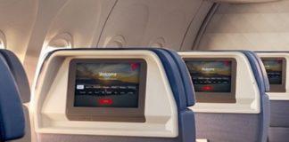 Delta Air Lines seat