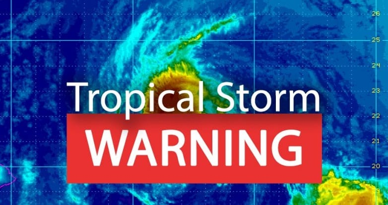 Tropical Storm Warnings issued due to Hawaii Tropical Storm Olivia