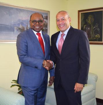 Jamaica Tourism Minister and Mexico Ambassador Designate