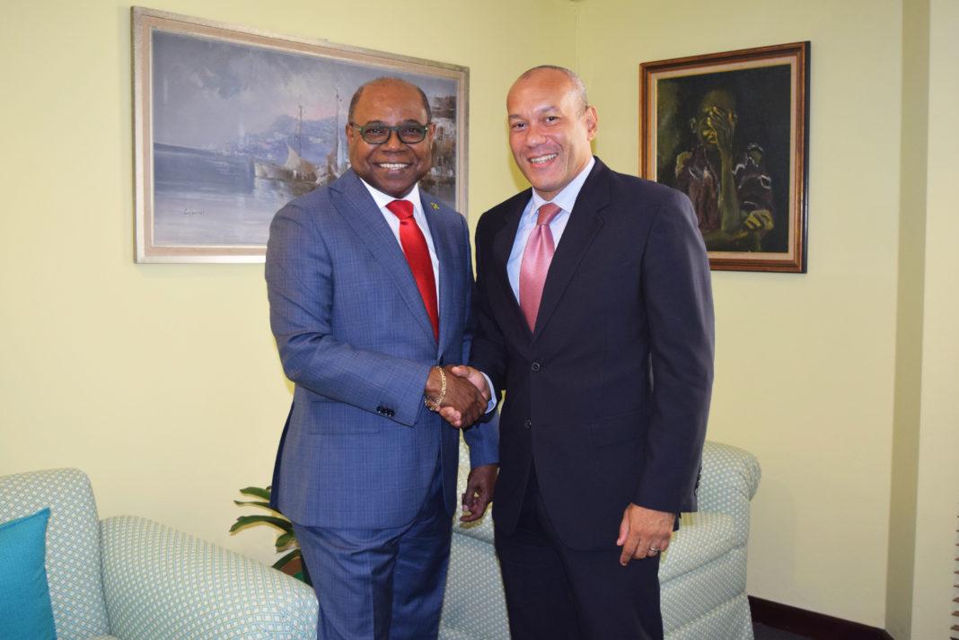 Jamaica Tourism Minister meets with Ambassador-Designate to Mexico
