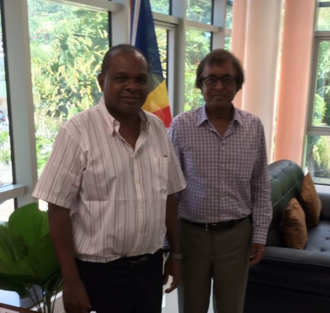 , Mauritius and Seychelles Tourism Ministers exchange ideas, Buzz travel | eTurboNews |Travel News