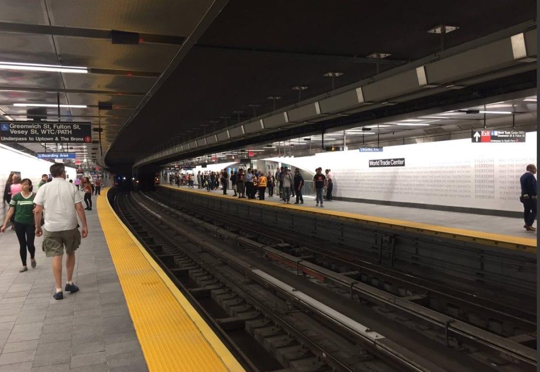 NY World Trade Center Subway Station ia a reminder to the Universal