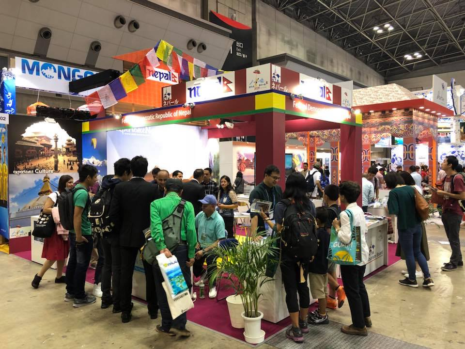 Nepal Tourism Board makes its mark at Tourism Expo Japan