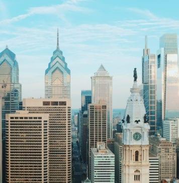 UK travelers love the Philadelphia's skyline - Image courtesy Kyle Huff for PHLCVB