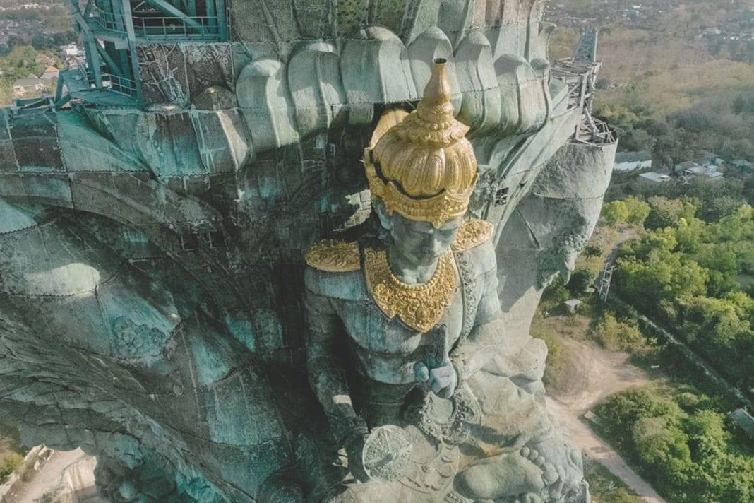 Bali, Garuda landed in Bali: Larger than the Statue of Liberty, Buzz travel | eTurboNews |Travel News