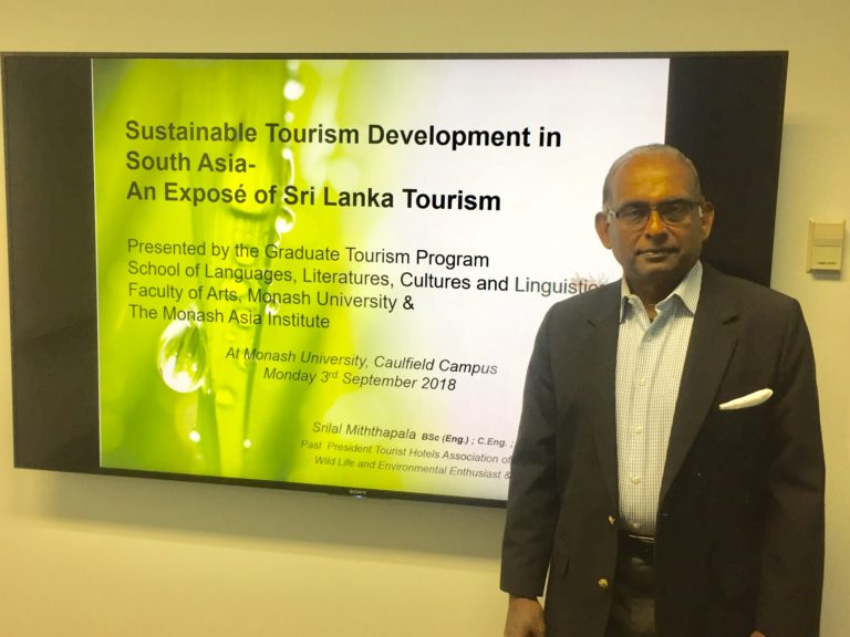 Sustainable Tourism Development seminar