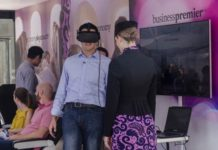Virtual reality at Air New Zealand Pop-Up Event