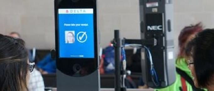 Just one look and you are on your way at first US biometric terminal