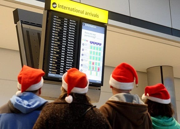 Best & worst times to fly for Thanksgiving & Christmas