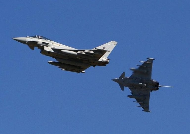 F-35 and Eurofighter