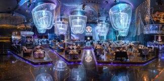 Cavalli Club Dubai showing the designer's style