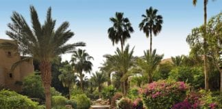Dead Sea Resort in Middle East